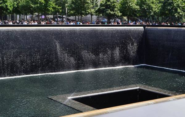 Wall Art - Photograph - Wtc Memorial Pool by Eileen Brymer