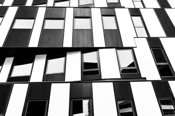 Photograph - Wu Campus Vienna Hitoshi Abe Facade 2 by Menega Sabidussi