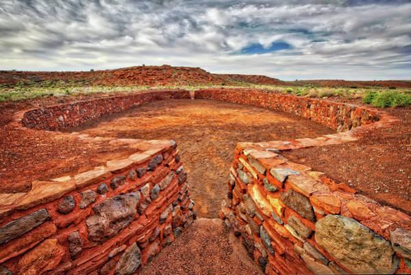 Wupatki Photograph - Wupatki Ruins National Monument Arizona 4 by Jennifer Rondinelli Reilly - Fine Art Photography