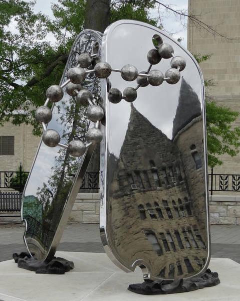 Kansas State University Photograph - Ww II Memorial by William Moore