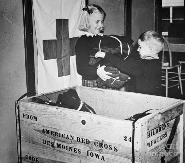 Photograph - Ww II: Red Cross, C1942-43 by Granger
