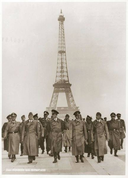 Painting - Ww II War Photo Series - In Paris by Celestial Images