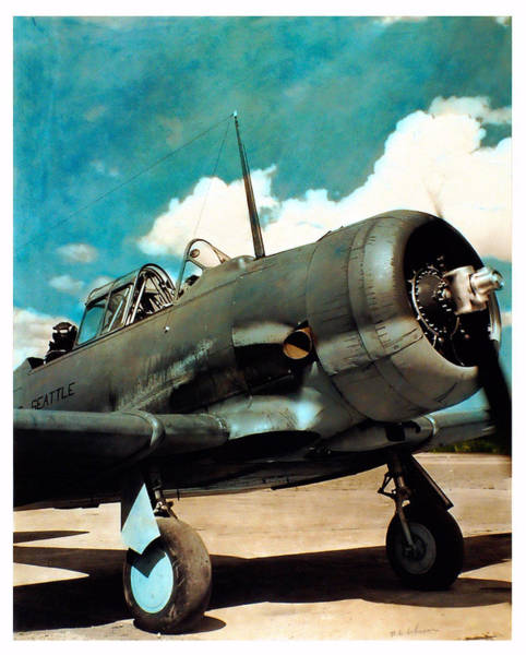 Photograph - Ww2 Plane by Owned by Sam Davis Johnson