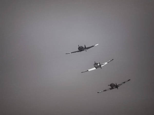 Photograph - Wwii Air Planes by Charles McKelroy