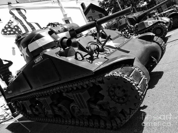 Photograph - World War Two Military Tanks by Lita Kelley