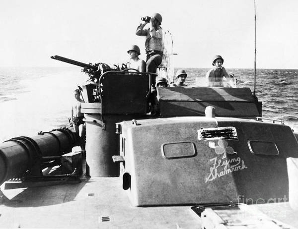 Photograph - Wwii Pt Boat by Granger