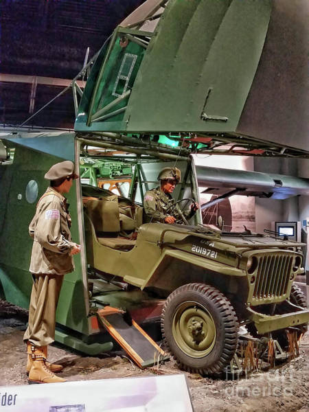 Photograph - World War 2 Willys Jeep by Tony Baca