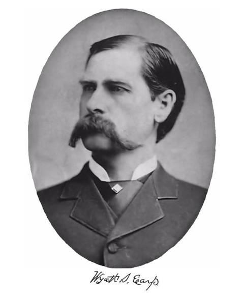 Photograph - Wyatt Earp Autographed by John Feiser