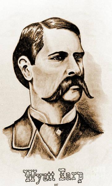 Photograph - Wyatt Earp by Gary Wonning