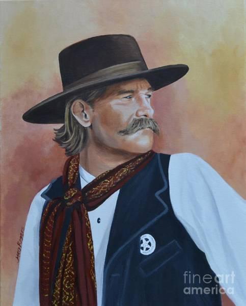 Mary Rogers Painting - Wyatt Earp by Mary Rogers