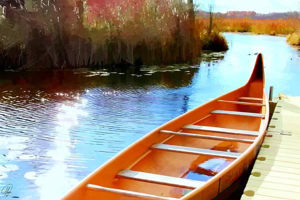 Lagoon Digital Art - Wye Marsh  by Margaret Hormann Bfa