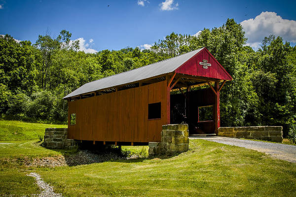 Photograph - Wyit Sprowls Covered Bridge by Jack R Perry