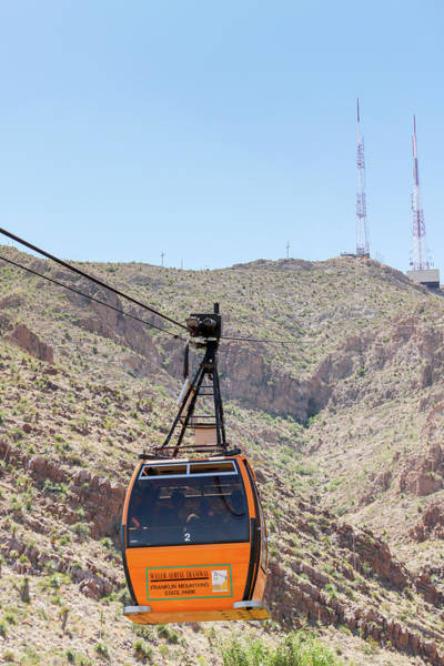 Photograph - Wyler Aerial Tramway by SR Green
