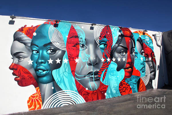 Photograph - Wynwood Mural Series 2017-01 by Carlos Diaz