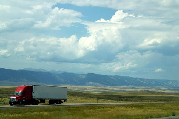 Wall Art - Photograph - Wyoming August Clouds 02 by Thomas Woolworth