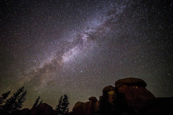 Photograph - Wyoming Stars by David Disponett