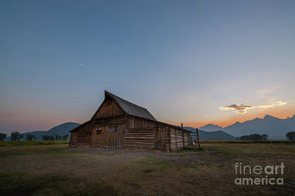 Wall Art - Photograph - Wyoming Sunset At Mormon Row by Michael Ver Sprill