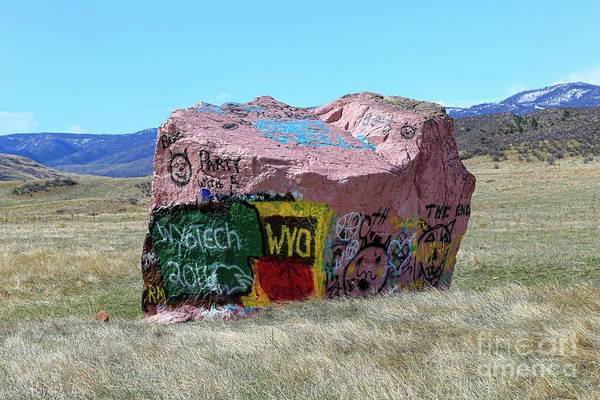 Photograph - Wyoming Tech by Jon Burch Photography