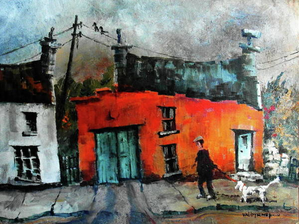Painting - 234 Walkies In Eyeries, Cork by Val Byrne