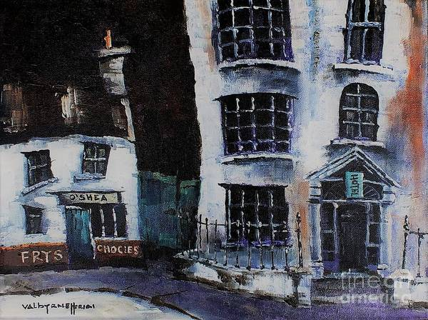 Painting - F 760   Frys Chocies, Killarney by Val Byrne