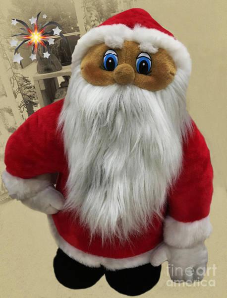 Photograph - X-mas Santa Claus by Eva-Maria Di Bella