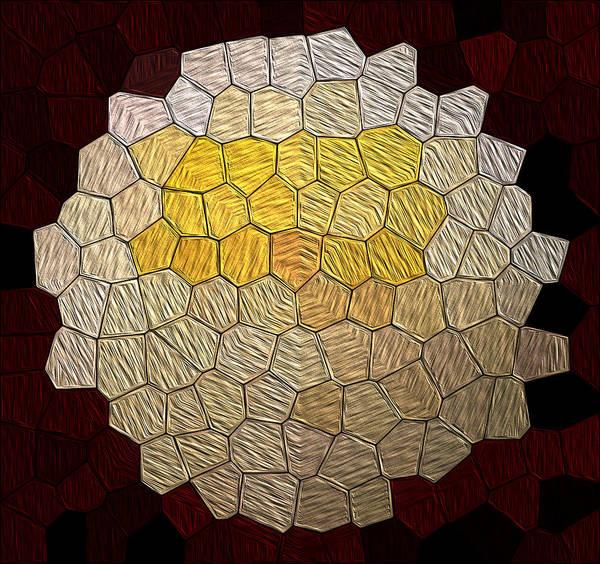 Digital Art - X-mas Tiles by Maria Reverberi