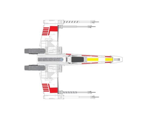 R2-d2 Digital Art - X-wing Fighter by Nathan Shegrud