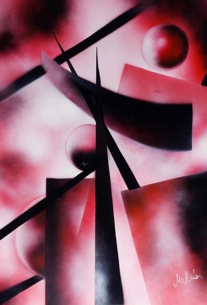 Wall Art - Painting - X-world by Nandor Molnar