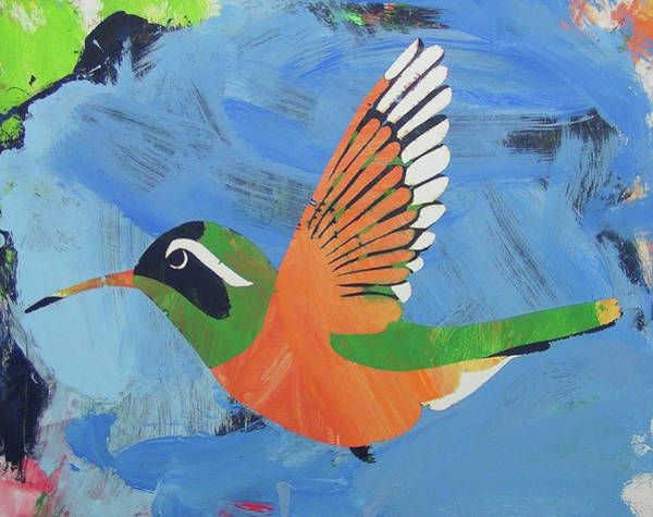 Painting - Xantus Hummingbird by Candace Shrope