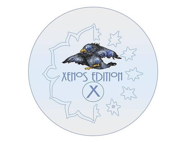 Digital Art - Xenos Edition Logo by Dawn Sperry