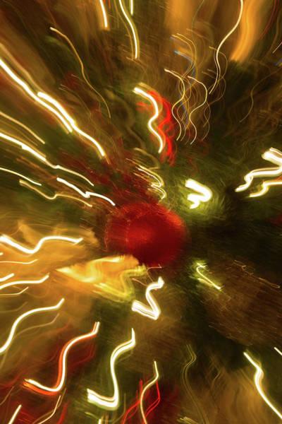 Wall Art - Photograph - Xmas Burst 3 by Rebecca Cozart