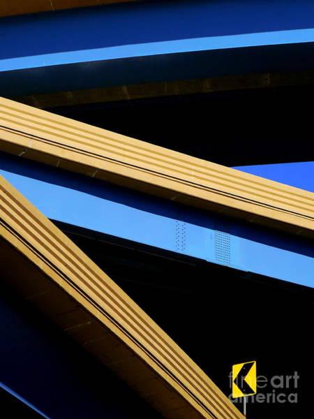 Photograph - Kandinsky's Lines by Guntis Lauzums