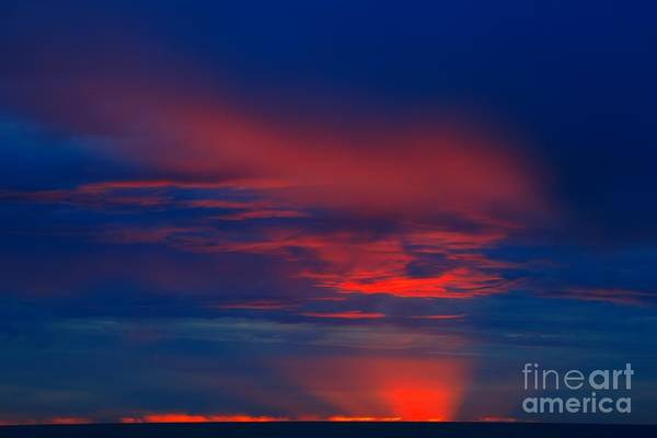 Photograph - Rialto Beach Red Sunset by Adam Jewell