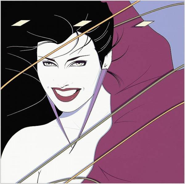 Amulet Digital Art - Xxx Patrick Nagel 036 Patrick Nagel by Eloisa Mannion
