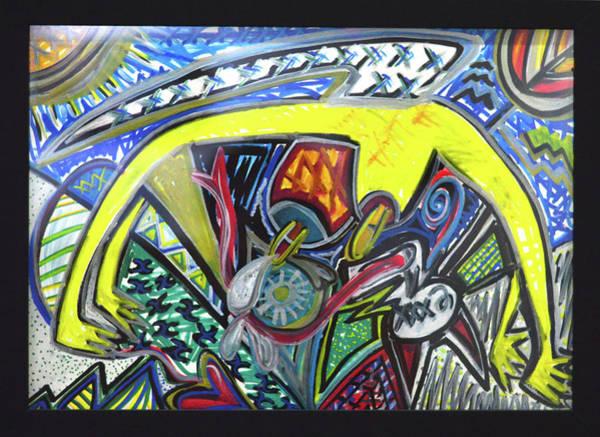 Xxxkull Patterns II Art Print
