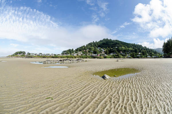 Photograph - Yachats River At Low Tide by Margaret Pitcher