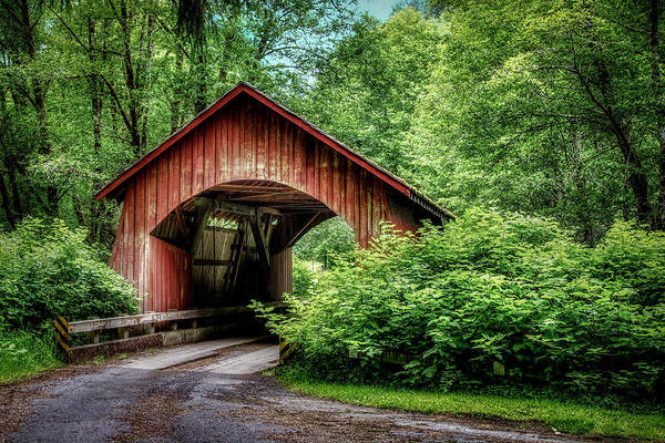 Photograph - Yachats River Covered Bridge by Michael Ash