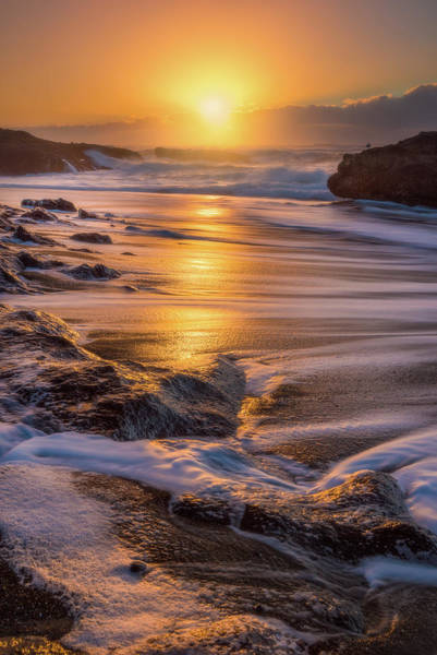 Central Oregon Photograph - Yachats' Sun by Darren White