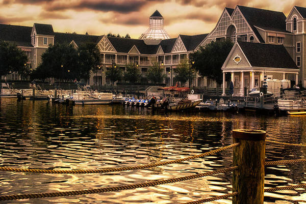 Wall Art - Photograph - Yacht And Beach Club Harbor Walt Disney World by Thomas Woolworth