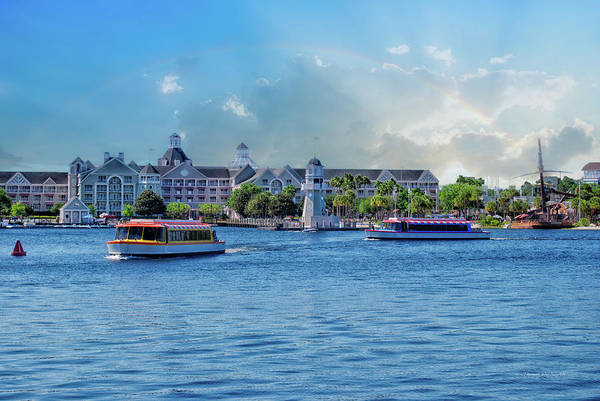 Mickey Mouse Photograph - Yacht And Beach Club Walt Disney World by Thomas Woolworth