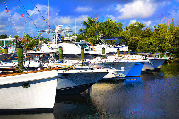 Photograph - Yacht Watch Series 12 by Carlos Diaz