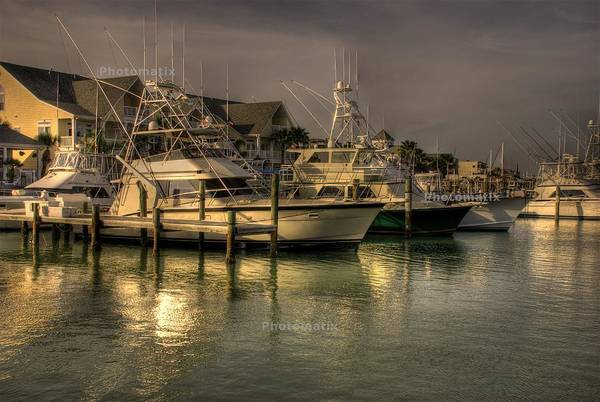 Yachts In Hdr Art Print