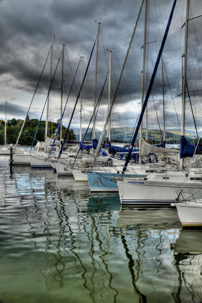 Photograph - Yachts On Lake Windermere by Sarah Couzens