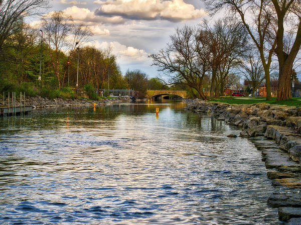 Yahara River, Madison, Wi Art Print