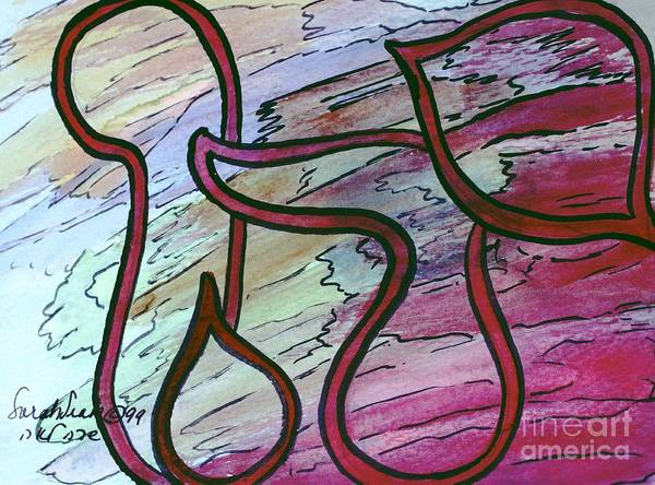 Painting - Yahu Lord  by Hebrewletters Sl