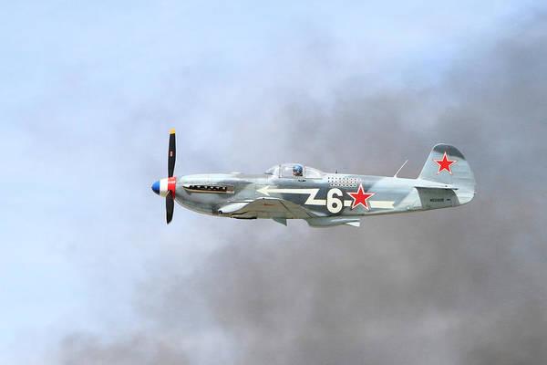 Yakovlev Photograph - Yak Through The Smoke by Shoal Hollingsworth