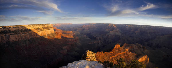 Grand Canyon Photograph - Yaki Point Panorama by Andrew Soundarajan