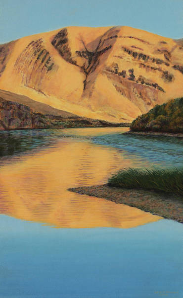 Wall Art - Painting - Yakima Canyon by Laurie Stewart