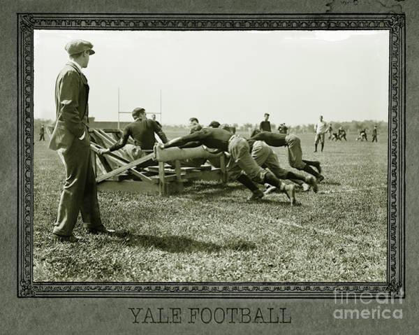 Wall Art - Photograph - Yale Football by Jon Neidert