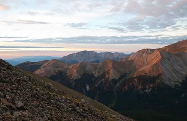 Photograph - Yale Peak Sunrise by Cascade Colors